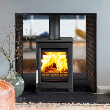 Parkray Aspect 4 Double Sided Wood Burning Stove Flames